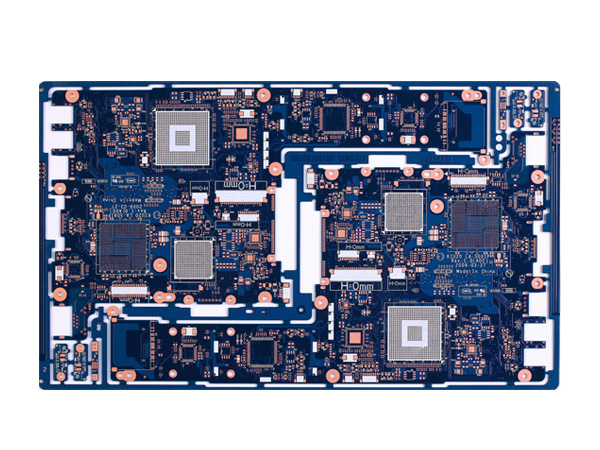 Double-sided OSP board
